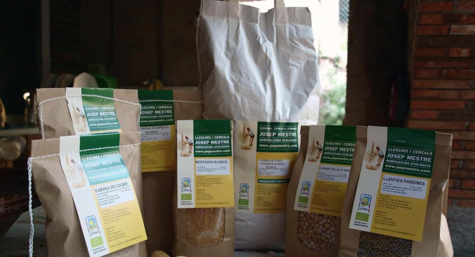 Productes d'agricultura ecològica Josep Mestre - Argençola