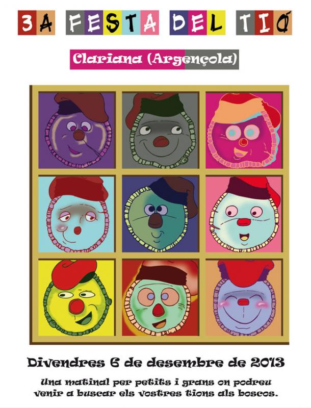 28.11.2013 Cartell 3a edició  Clariana -  James Mckinnell