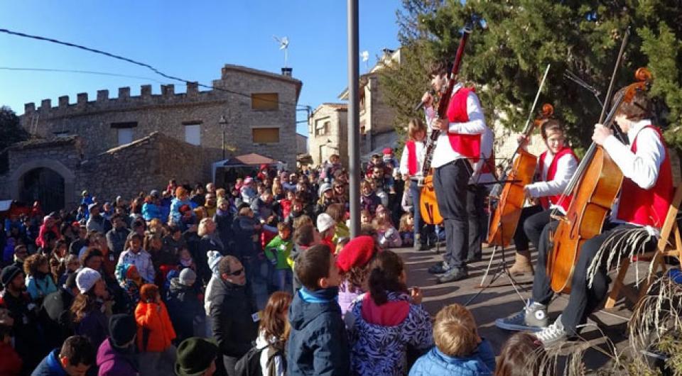 Actuacions a la festa del Tiò - Clariana