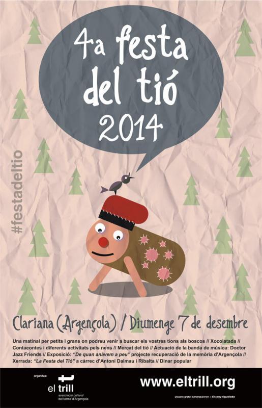 01.12.2014 Cartell 4a edició  Clariana -  El Trill