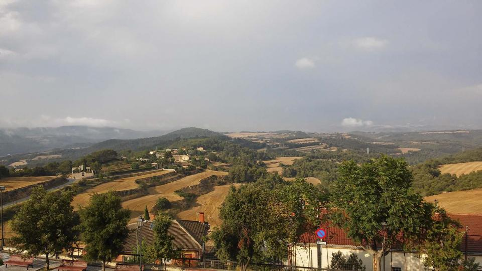 01.08.2014 paisatge  Argençola -  Ramon Sunyer