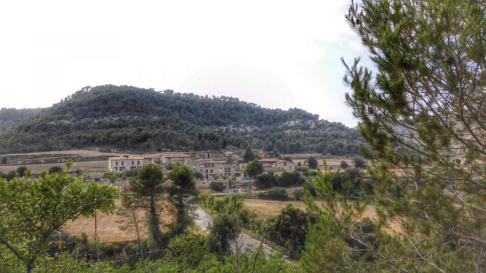 01.08.2014 Vista del poble  Clariana -  Ramon Sunyer