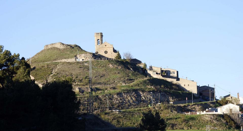 04.04.2014 restes del castell  Argençola -  Ramon Sunyer