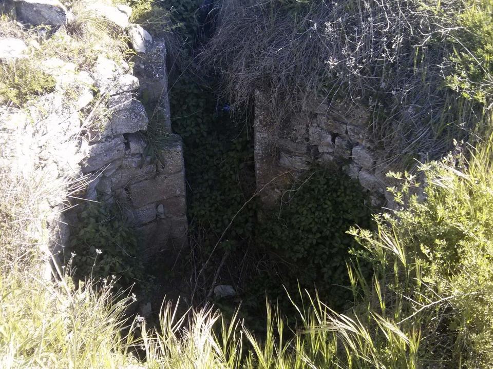 Restes del castell - Argençola