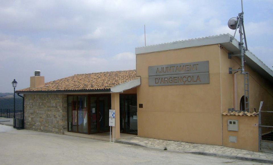 Ajuntament - Argençola