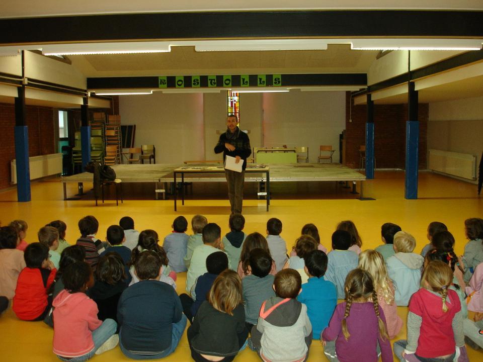 05.12.2014 Escola Alta Segarra  Calaf -  Martí Garrancho