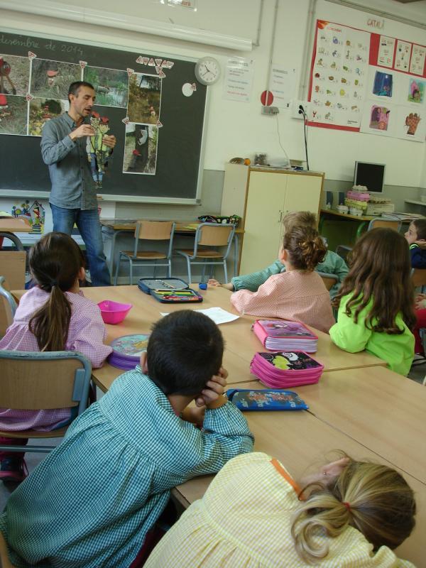 05.12.2014 Escola Maria Borés  La Pobla de Claramunt -  Martí Garrancho