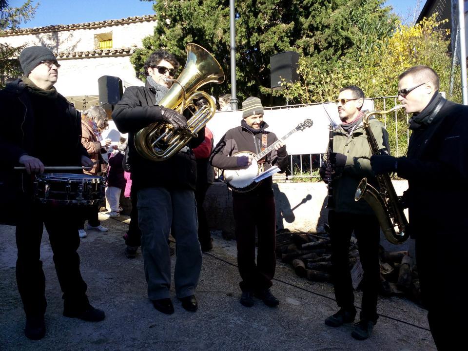 08.12.2014 actuació musical dels Doctor Jazz Friends  Clariana -  Marià Miquel