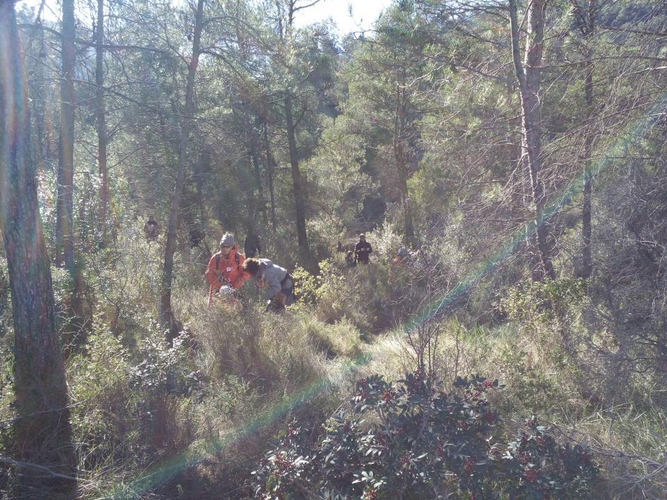 08.12.2014 A la búsqueda del tió  Clariana -  Marià Miquel