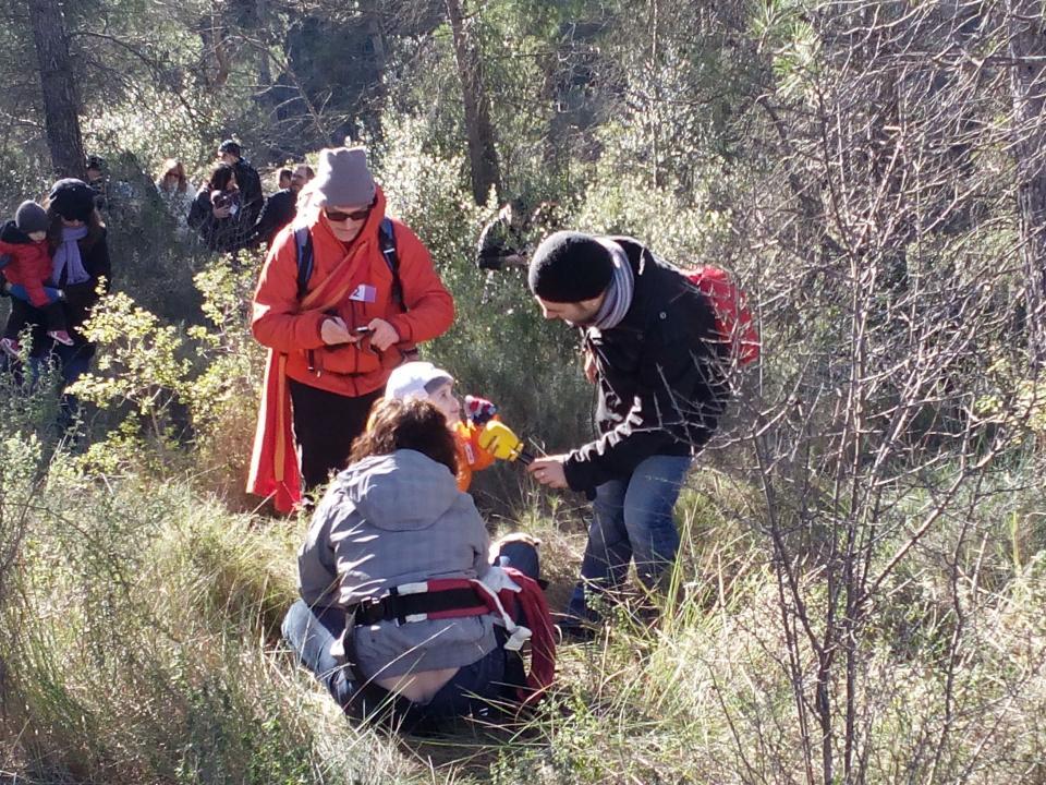 08.12.2014 La descoberta del tió un moment màgic  Clariana -  Marià Miquel