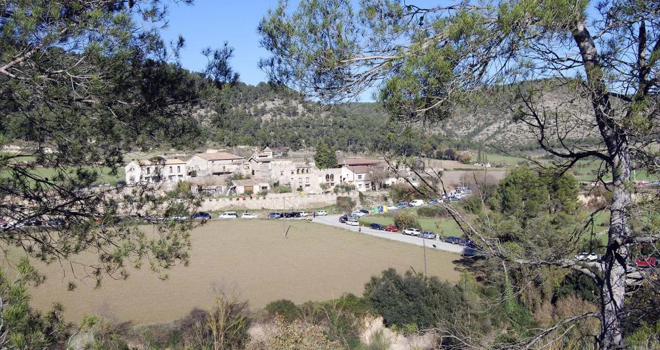 07.12.2014 Vista del poble  Clariana -  Ramon Sunyer
