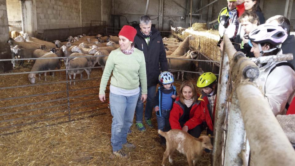 14.12.2014 Viisita a a la granja de cal Serrats  Argençola -  Jaume Teixé