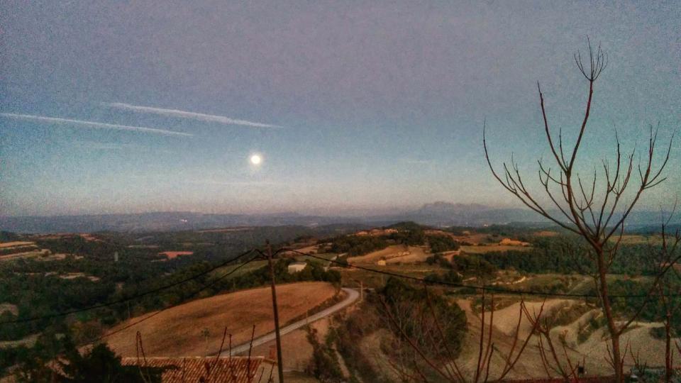 04.01.2015 Sortida de lluna  Argençola -  Ramon Sunyer
