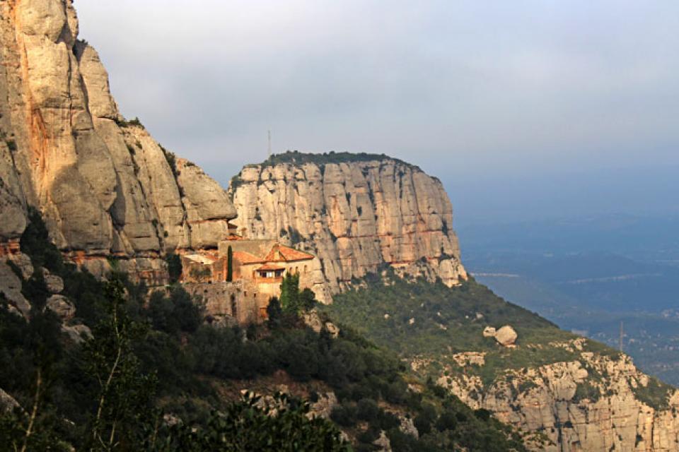 cartell Caminada Matinals del Trill 2015 Rutes per Montserrat
