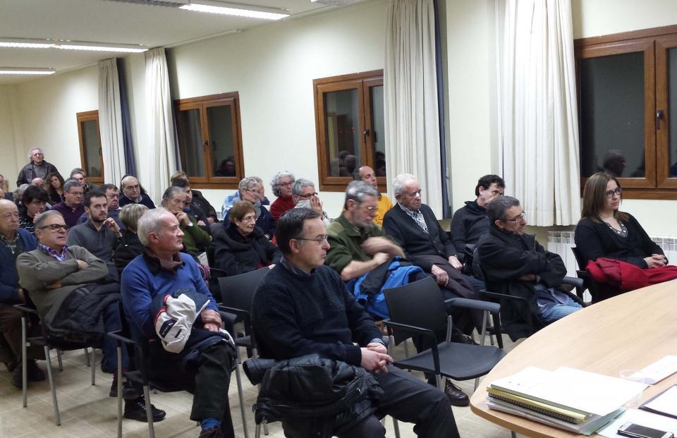 Assemblea de l'Associació de Propietaris Forestals d'Argençola  - Argençola