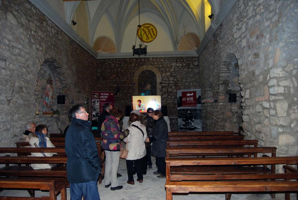 30.03.2015 Església de Santa Maria  Clariana -  ramon Sunyer