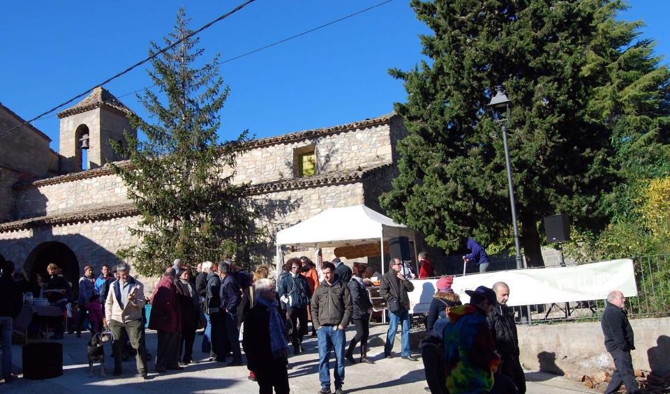 08.12.2014 Església de Santa Maria  Clariana -  Autor