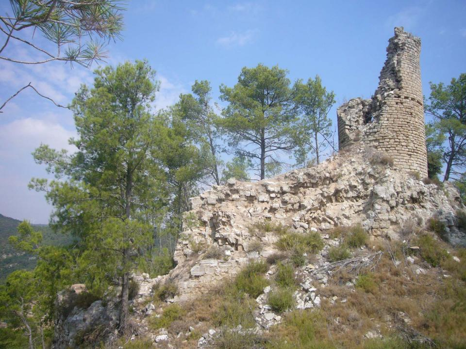 Castell de Clariana - Autor Jordi Ferrer (2011)