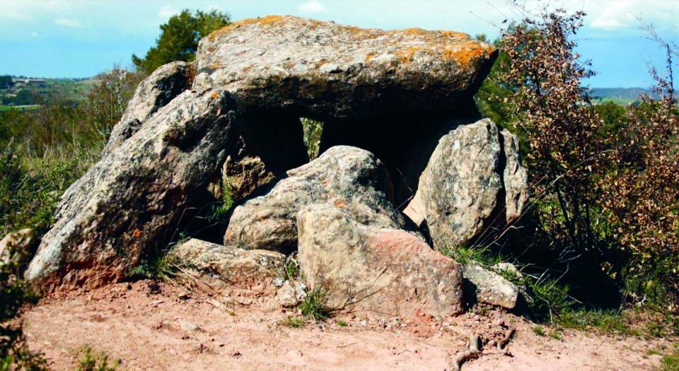 30.03.2014 sepulcre Megalític  Els Plans de Ferran -  El Trill