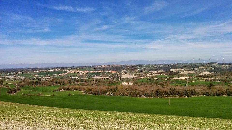 05.04.2015 Paisatge cal Manel i Montmaneu  Carbasí -  Ramon Sunyer