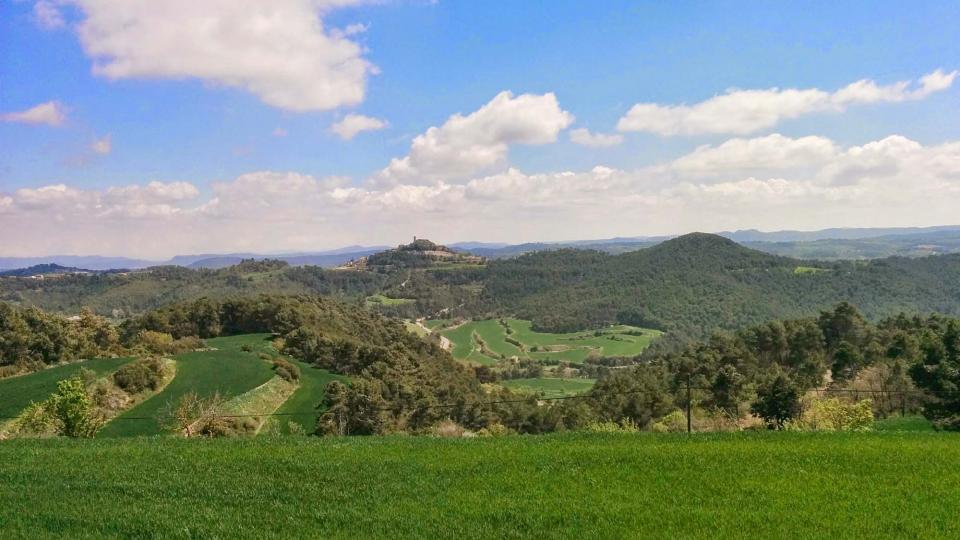 19.04.2015 Vista d'Argençola  Carbasí -  Ramon Sunyer