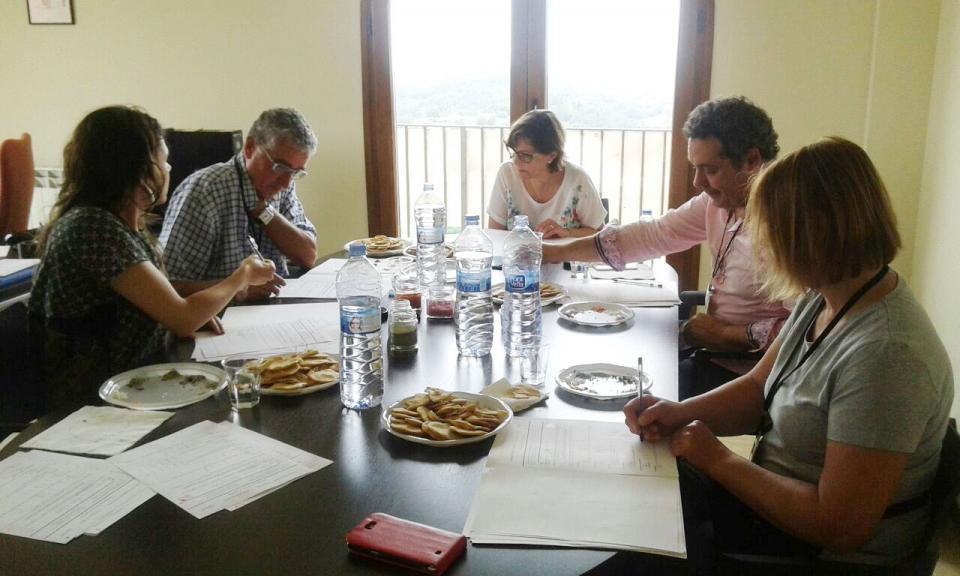 Jurat del concurs de sals aromatitzades 2015 - Argençola