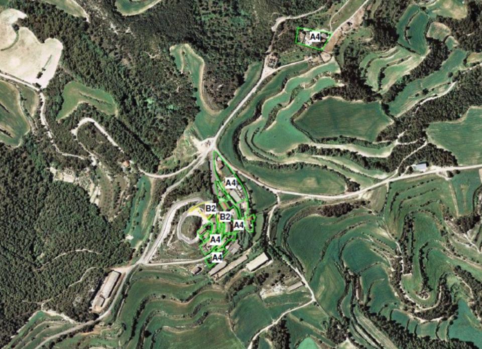 Mapa de capacitat acústica del municipi d'Argençola - Argençola