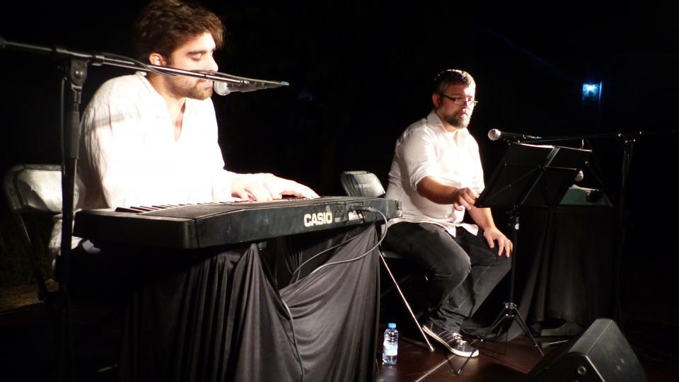03.08.2015 Recital Música d'Amor i Silenci  Rocamora -  César Ramírez Pérez