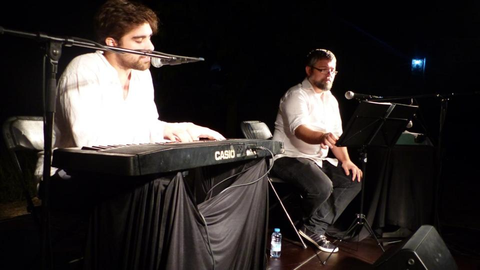 03.08.2015 Recital Música d'Amor i Silenci  Rocamora -  Cèsar Ramírez