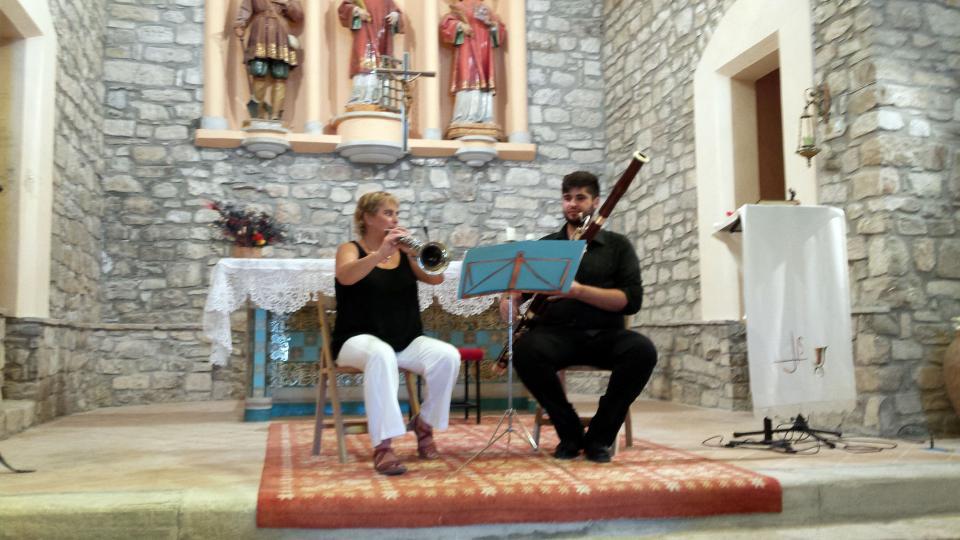 09.08.2015 concert a l'església  Argençola -  Marià Miquel