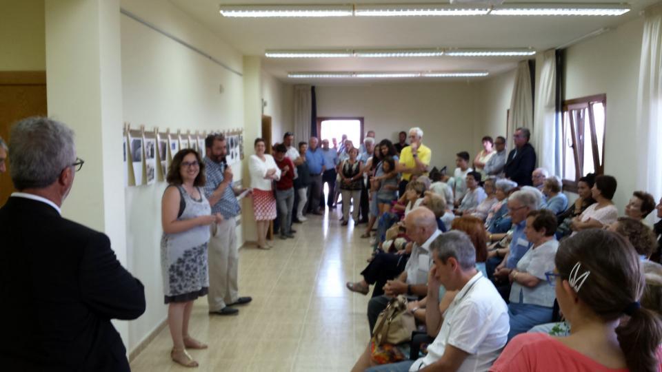 09.08.2015 exposició de fotografies antigues  Argençola -  Marià Miquel