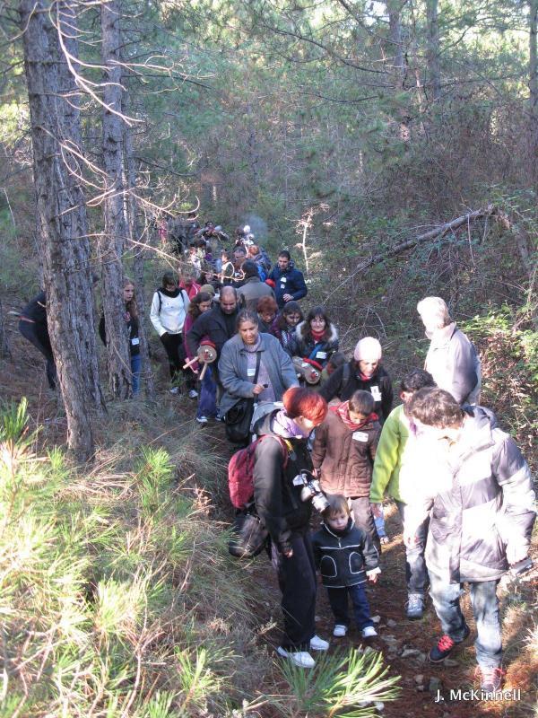 21.11.2015 Sortida de les famílies al bosc  Clariana -  James McKinnell