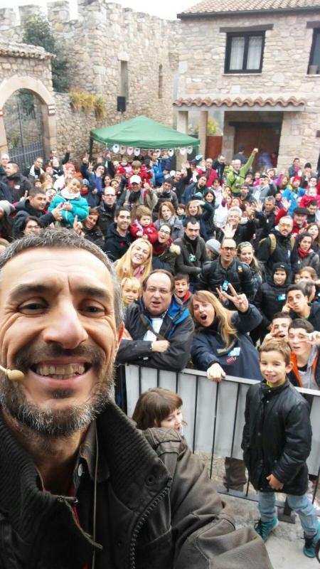 06.12.2015 Selfie 5a Festa del Tió  Clariana -  Martí Garrancho