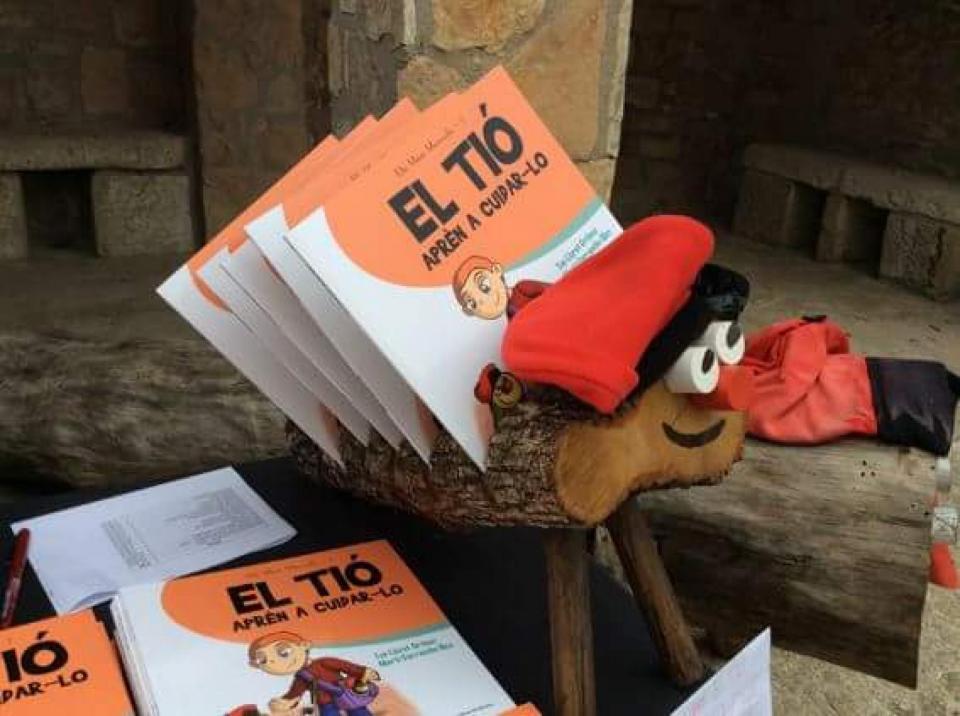 06.12.2015 El Tió a la parada de Cossetània  Clariana -  Cossetània Edicions