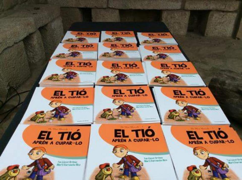 06.12.2015 El Tió Aprèn a cuidar-lo a Clariana  Clariana -  Cossetània Edicions