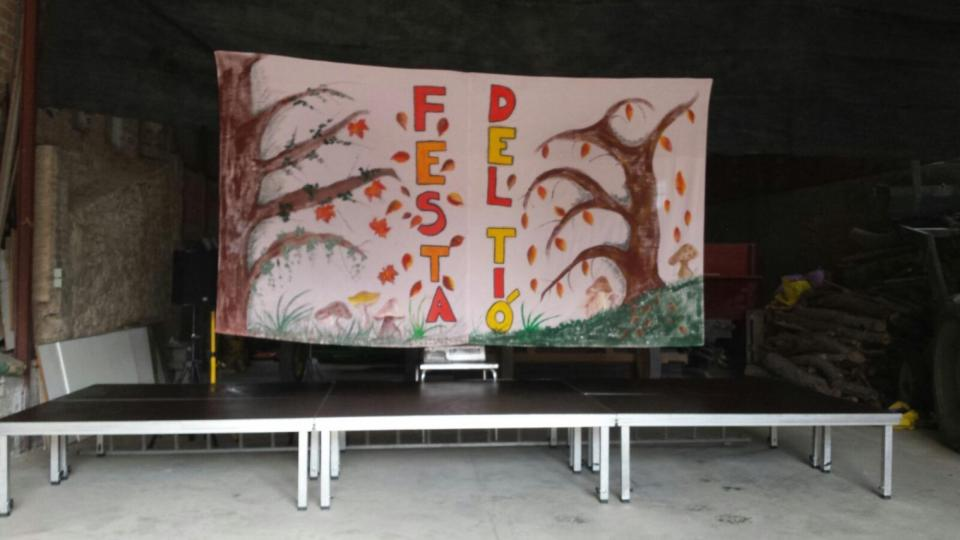 06.12.2015 Escenari de l'espectacle  Clariana -  Marià Miquel