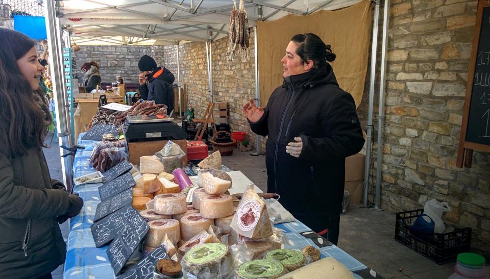 06.03.2016 mercat  Argençola -  Ramon Sunyer