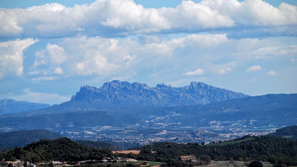 06.03.2016 vista de Montserrat  Argençola -  Ramon Sunyer