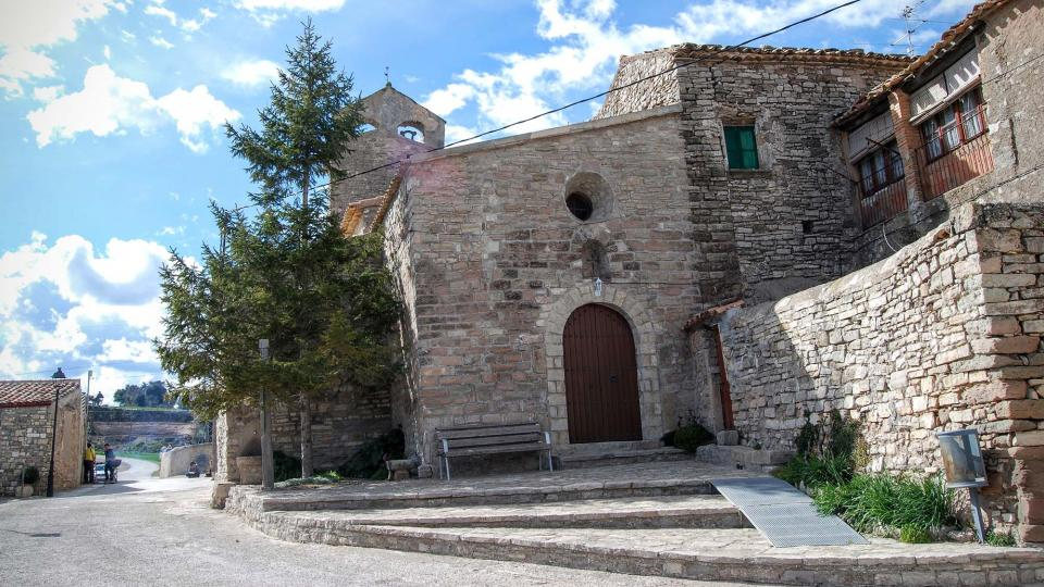 08.03.2016 Església de Sant Bartomeu romànic S XI  Carbasí -  Ramon Sunyer