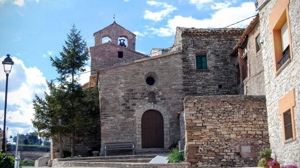 06.03.2016 Església de Sant Bartomeu romànic S XI  Carbasí -  Ramon Sunyer