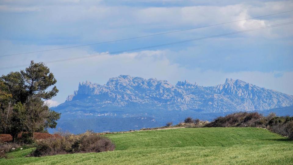 06.03.2016 Vista de Montserrat  Carbasí -  Ramon Sunyer