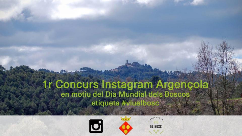1r Concurs d'Instagram Argençola - Argençola