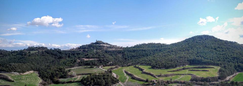 06.03.2016 Panoràmica del Pla de les Vinyes  Argençola -  Ramon Sunyer