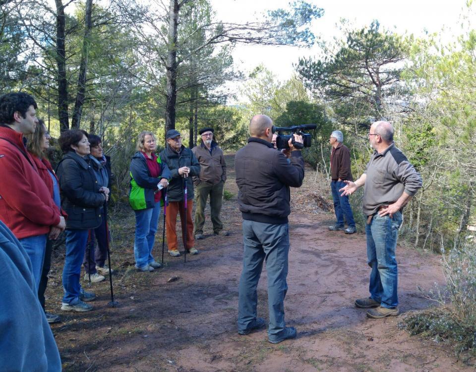 20.03.2016 Visita al bosc de Cal Caseta  Argençola -  Martí Garrancho