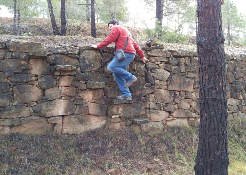 20.03.2016 Passant d'un marge a l'altre  Cal Caseta -  Martí Garrancho