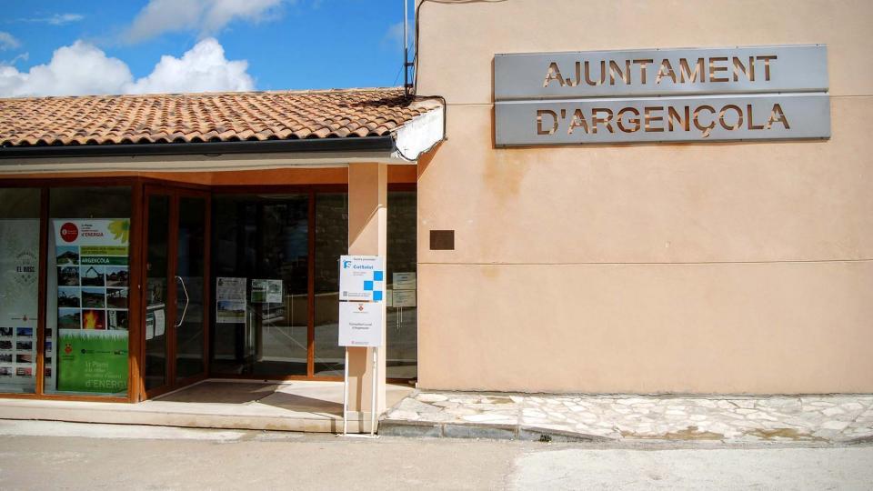 Convocatòria Ple ordinari Ajuntament d'Argençola - Argençola