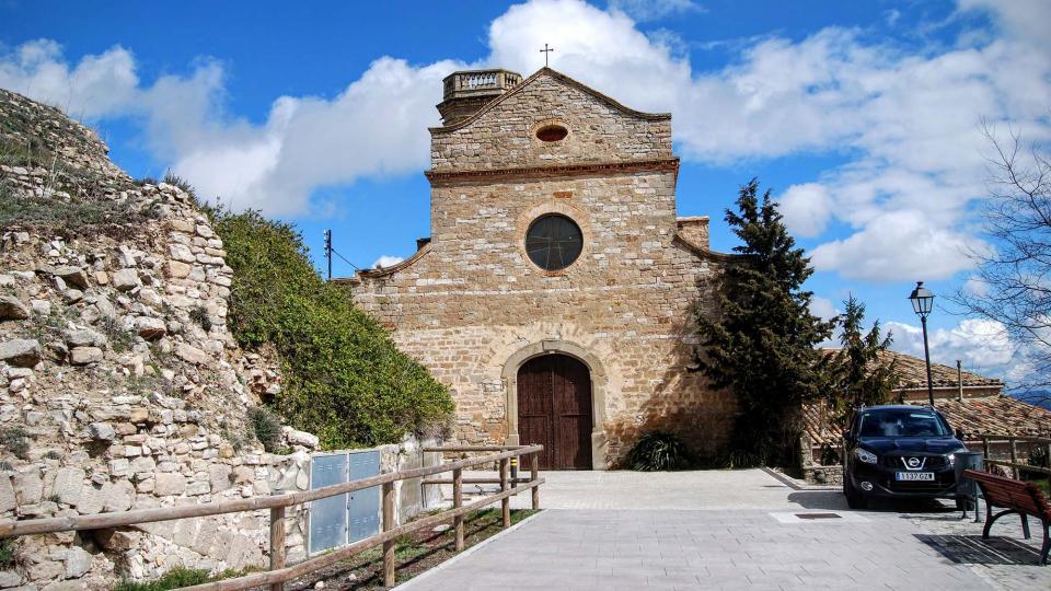 20.03.2016 Església de Sant Llorenç  Argençola -  Ramon Sunyer