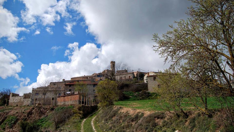20.03.2016 el poble  Argençola -  Ramon Sunyer
