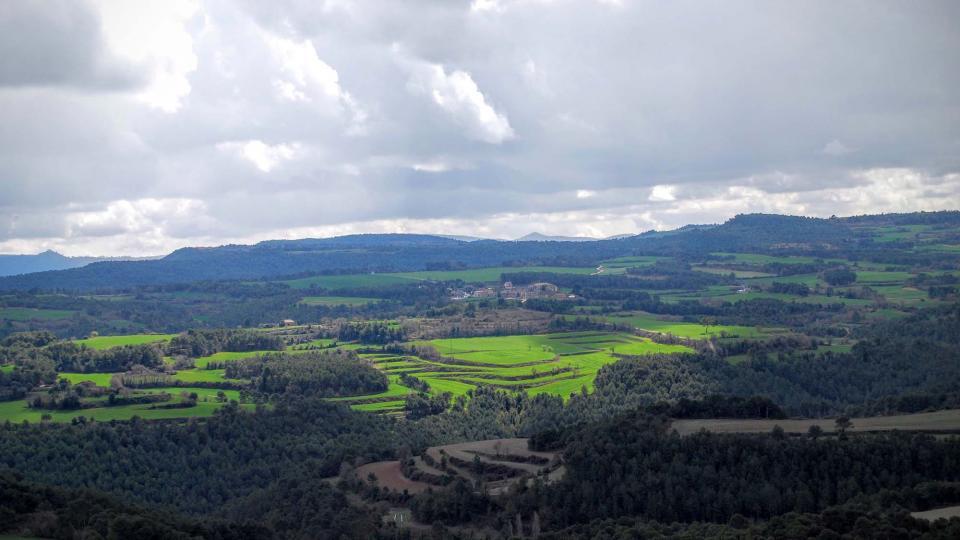 20.03.2016 paisatge de primavera  Els Plans de Ferran -  Ramon Sunyer