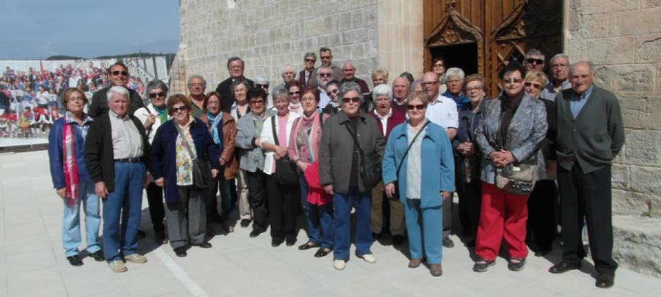 Visita del Consell de la Gent Gran de l'Anoia a Tous -
